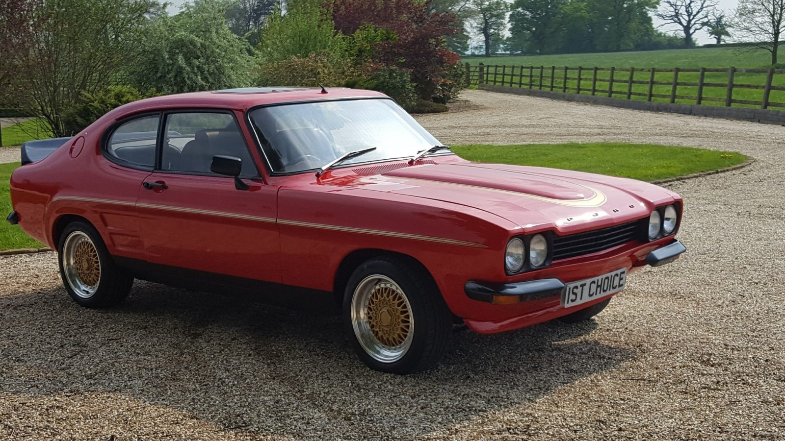 1972 Ford Capri (Red)
