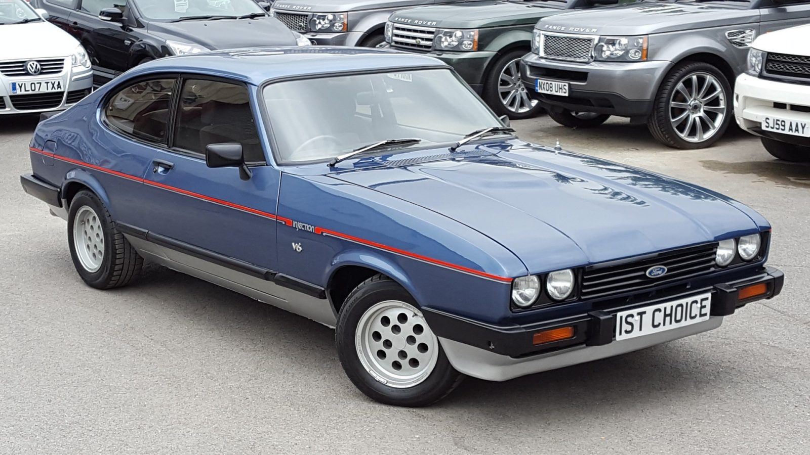 Ford Capri (Blue)