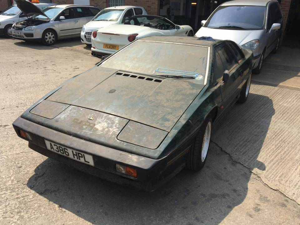 1983 Lotus Esprit Turbo 2