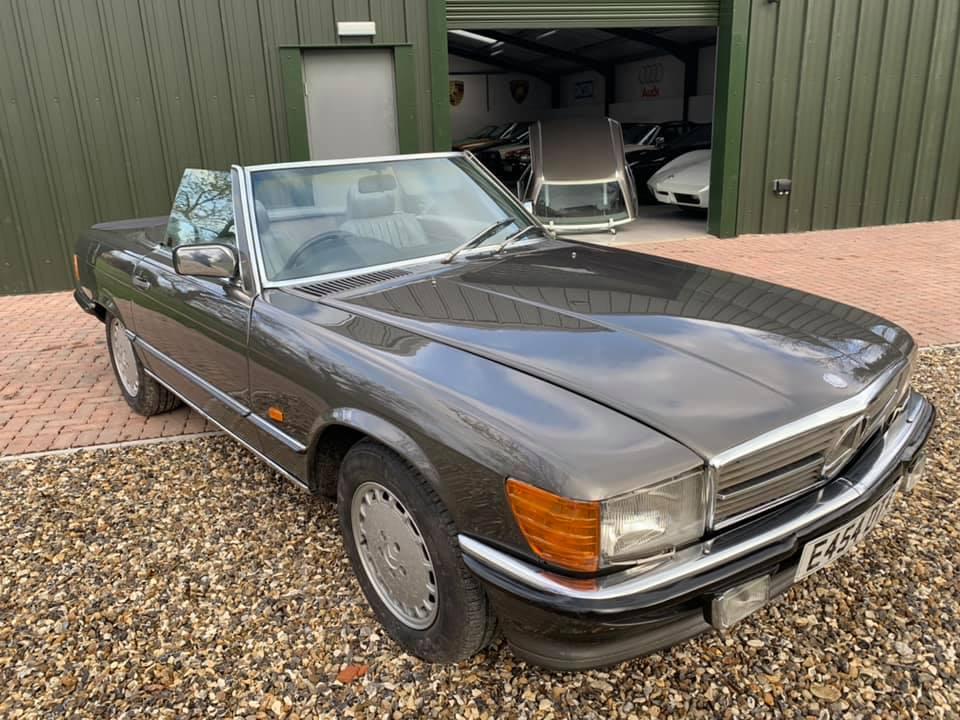 1986 Mercedes 500 SL